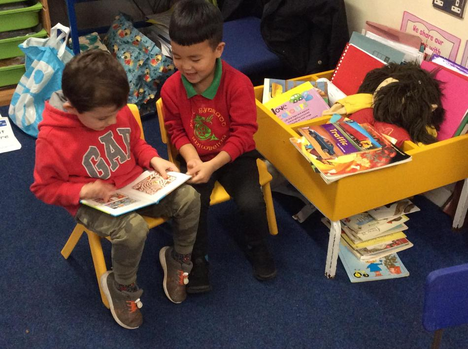 Sharing stories is one of our favourite weekly activities!