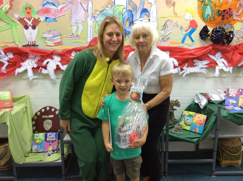 Our Infant Classes Golden Ticket Winner!