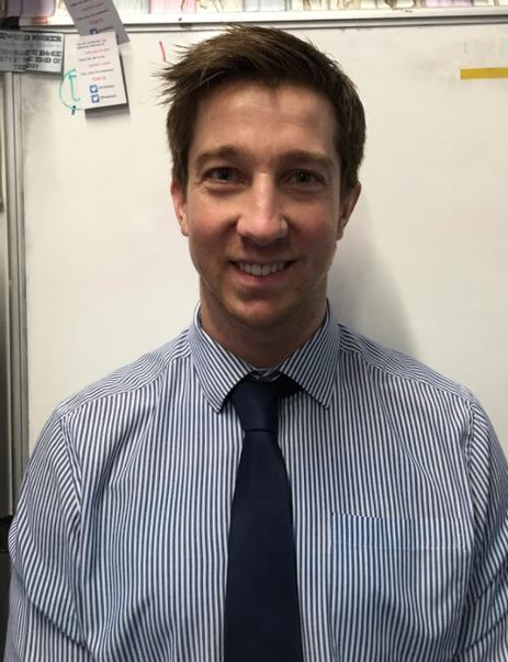 Mr W Jones - Class Teacher