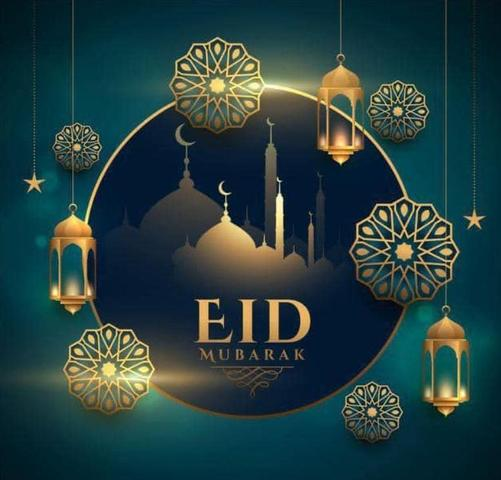 Happy Eid to all our families and friends as you celebrate the end of Ramadam