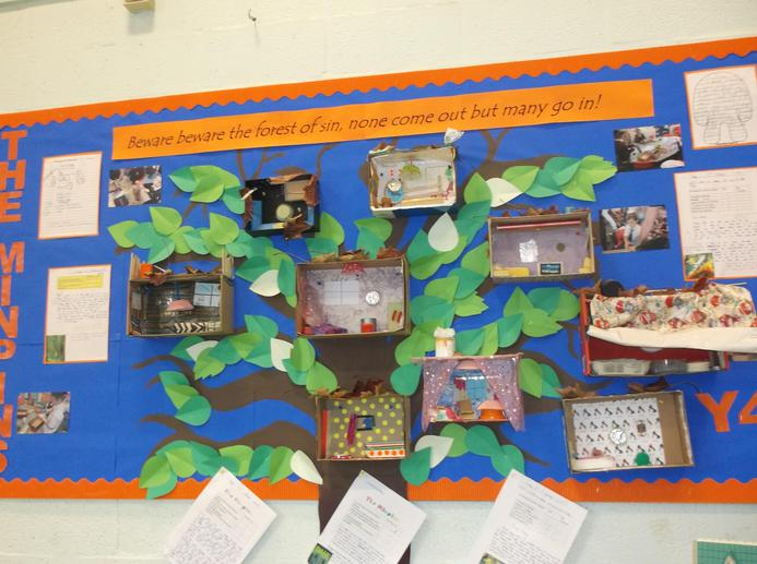 Year 4's amazing Minpin houses!