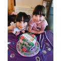 Happy 7th Birthday Francesca and Eryn!