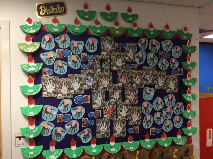 Diwali topic - very sparkly!