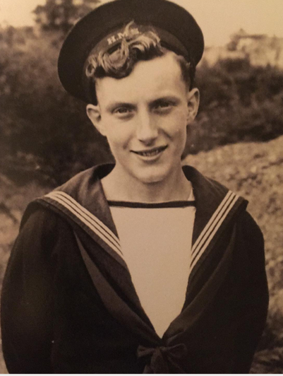 Mia's Great Grandad Douglas was in the navy and navigated ships through mine fields!