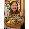 Coral's Giant mini-egg cookie!