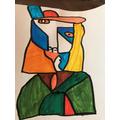 Freddie's Picasso picture- Fantastic!