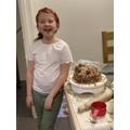 Milly's Ferrero Rocher cake