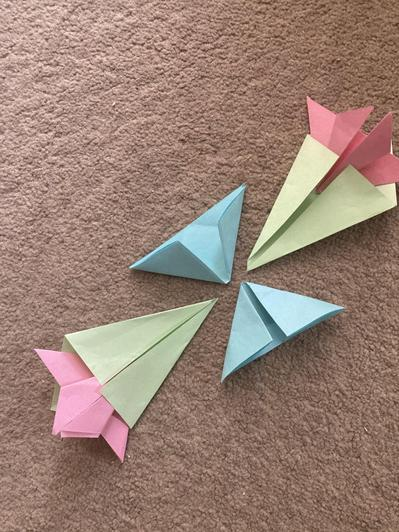 Nathan's awesome origami