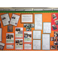Whole school display of our work