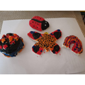 Salt dough minibeasts