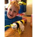 Oliver's fantastic bee!