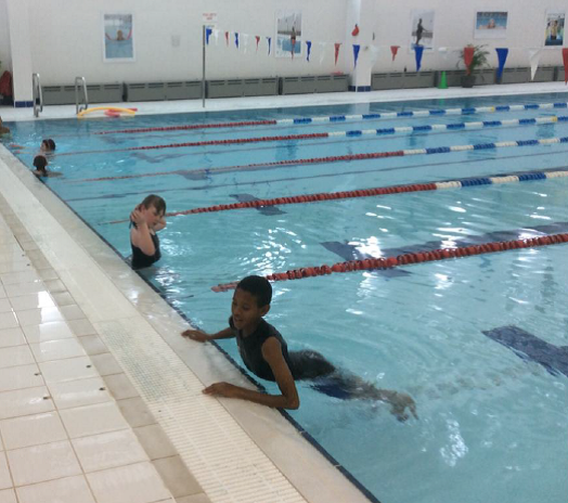 Biathlon competition swimmers 15th October 2018