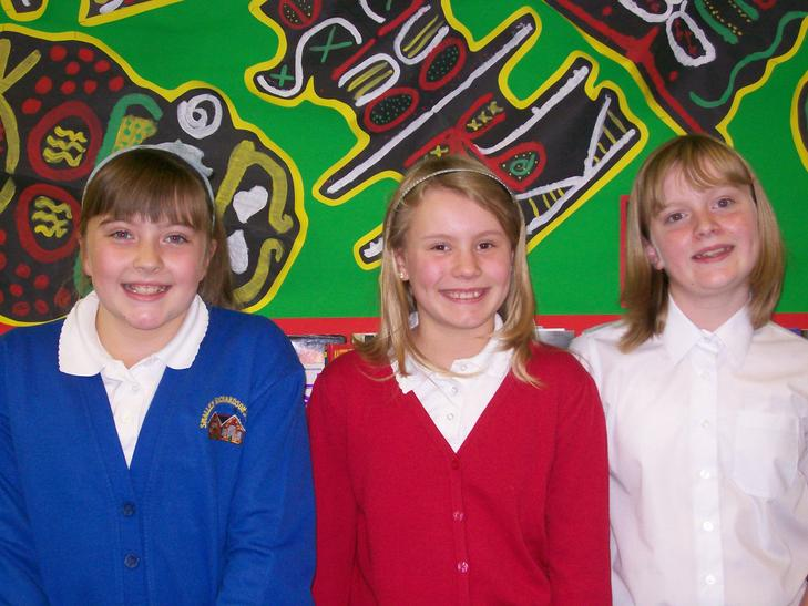 Evie, Bethany and Abbie -Class 6