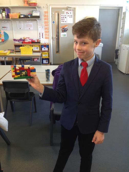 Alfie's awesome lego
