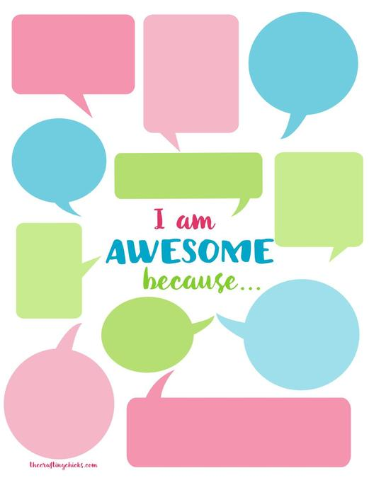 Everyday let's celebrate ourselves and each other...you are all AWESOME!