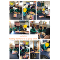Chicken Week group task. Turn taking and following instructions.