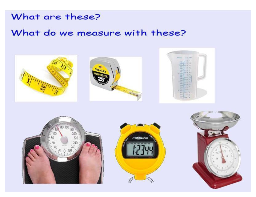 Learning about measure.