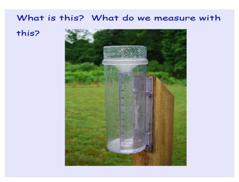 BONUS POINT - what is this apparatus and what does it measure?