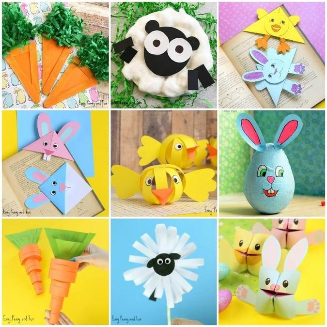 Some Easter craft ideas.