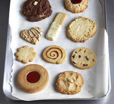 Our Cookery: biscuits.  Aim to 'master' skills such as whisking, cracking, sieving, mixing