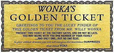 Amber class children will design their own golden tickets!