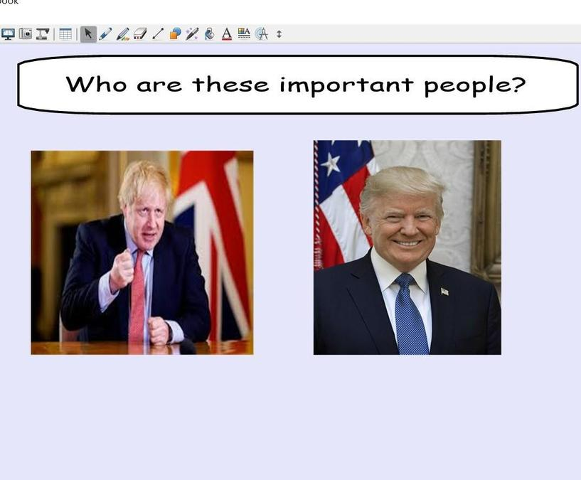 Can you remember who these important people are?
