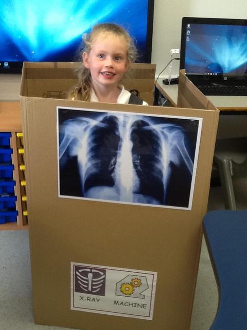 Homemade x-ray machine