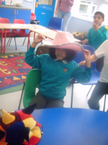 Silly Billy Hats book activities