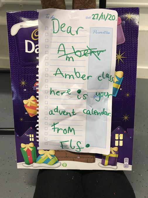 A cheeky Elf left a special gift!