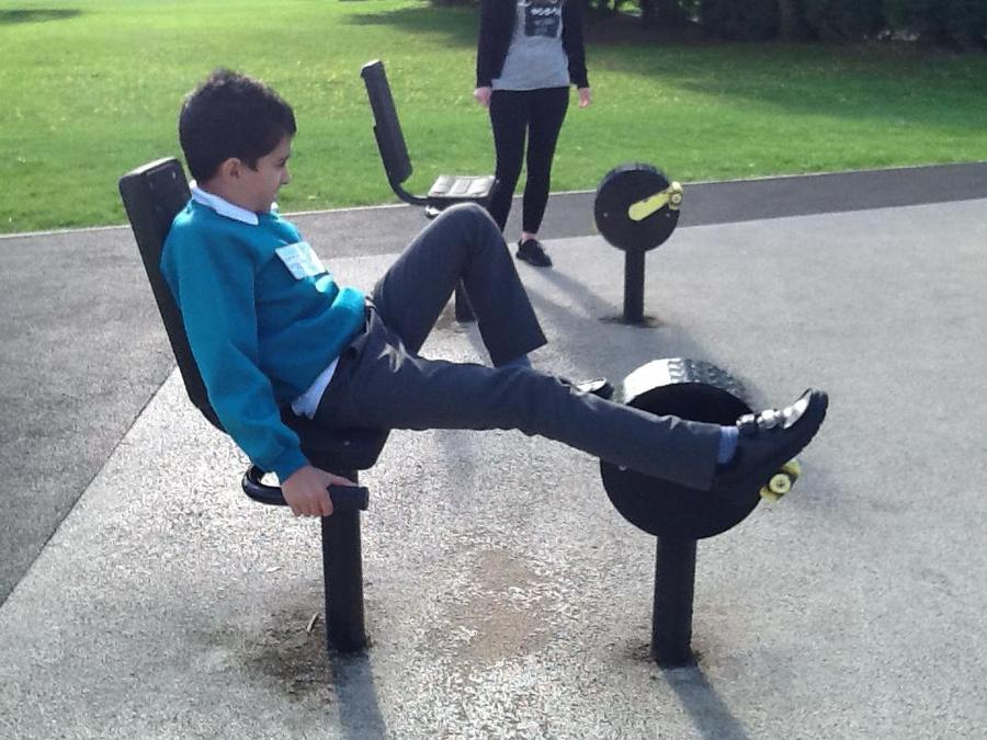 St Albans outdoor gym