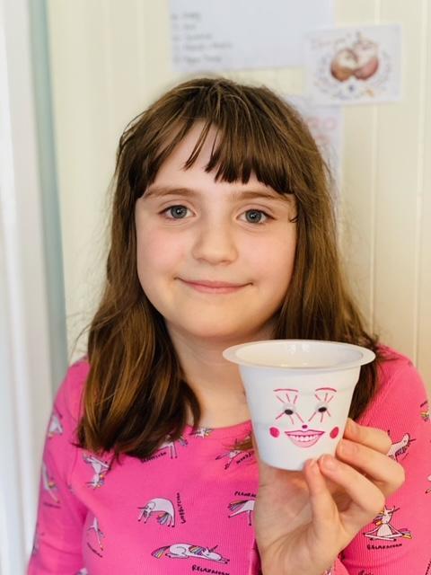 Amy's yogurt pot