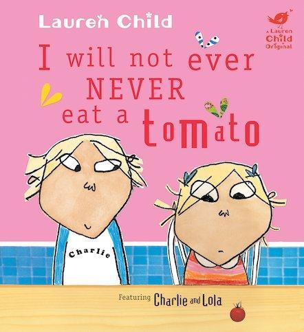 Our story this half term; I will not ever, never eat a tomato.