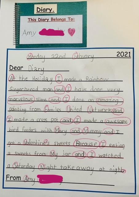 Amy's wonderful February half term holiday news.