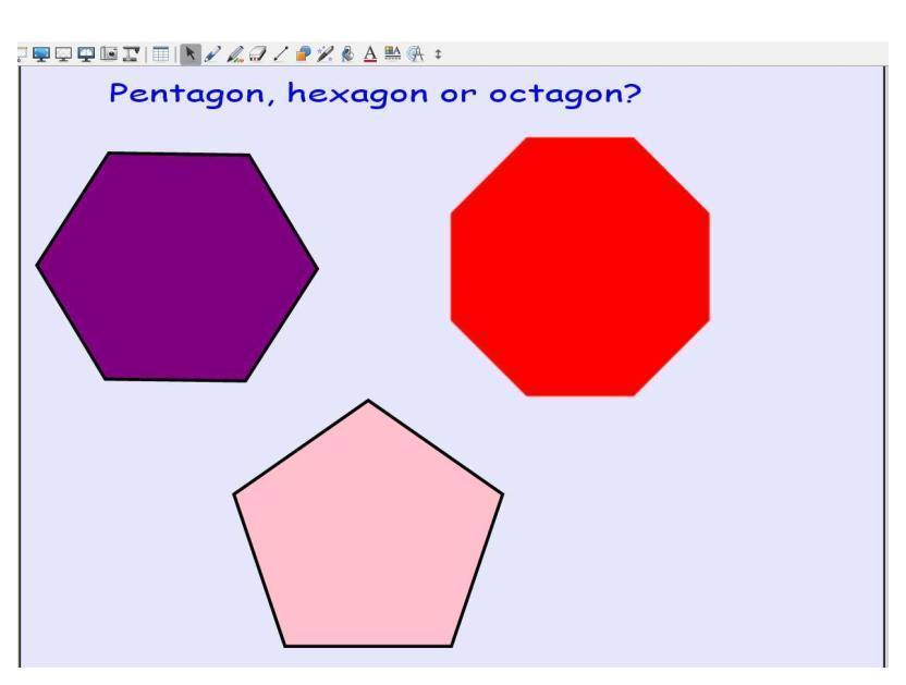 Hexagon, octagon or pentagon?