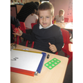 Using numicon to help us count