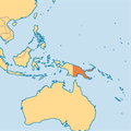 Here is Papua New Guinea