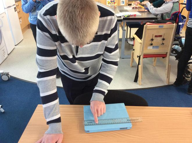 Measuring using a ruler