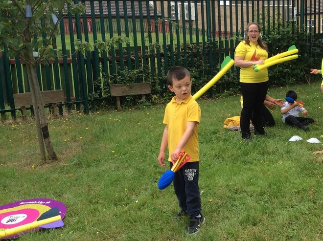 Yellow Team Javelin