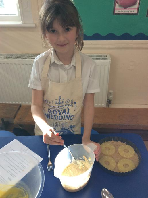 Learning to 'fold' ingredients together.