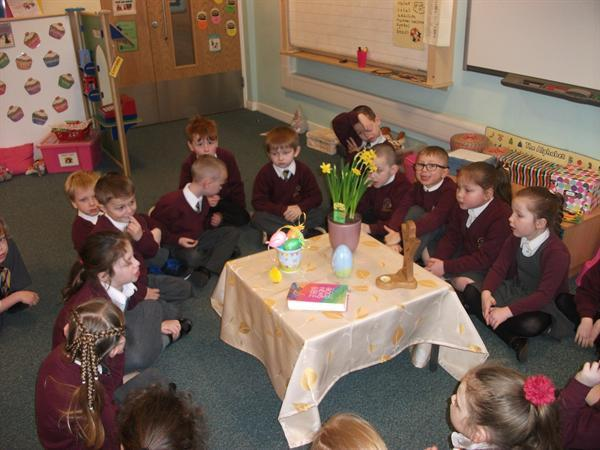 Our Easter table