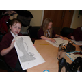 Art Club Observational Drawings