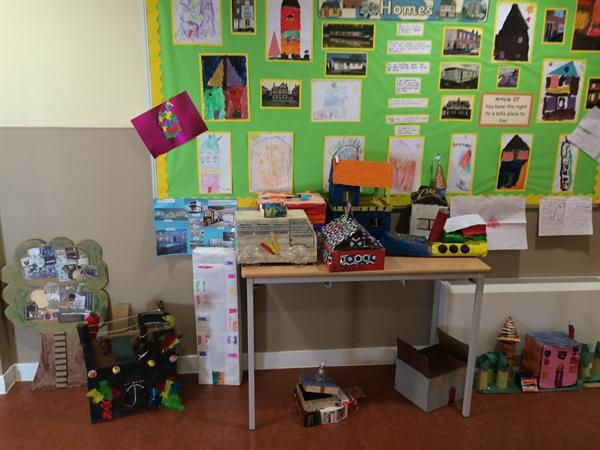 Our ideal homes as part of our history topic