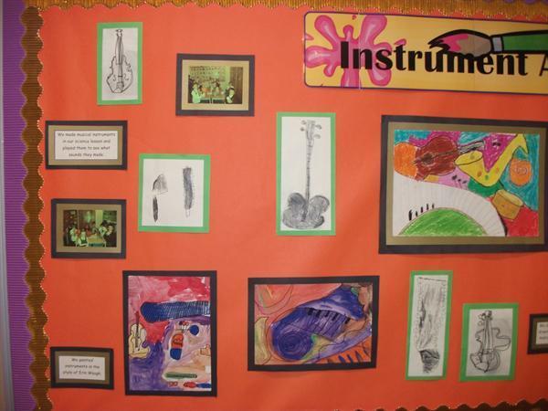 Instrument art display