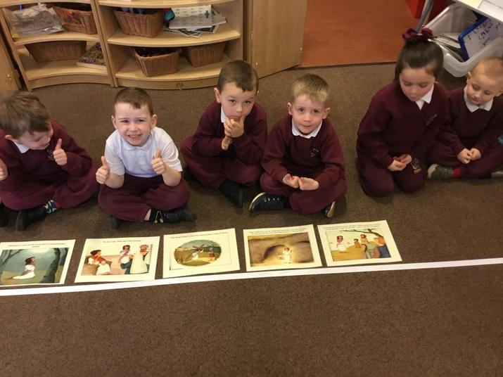 Organising, sequencing and talking about events