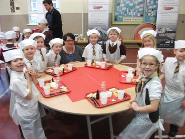 Junior Chefs ready for work!