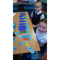 Ordering and labelling numbers 1-20