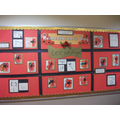 Year 1/2 Remembrance Day art work