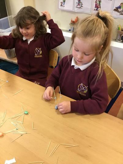 STEM - making toothpicks towers
