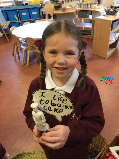 Purposeful writing in child initiated play