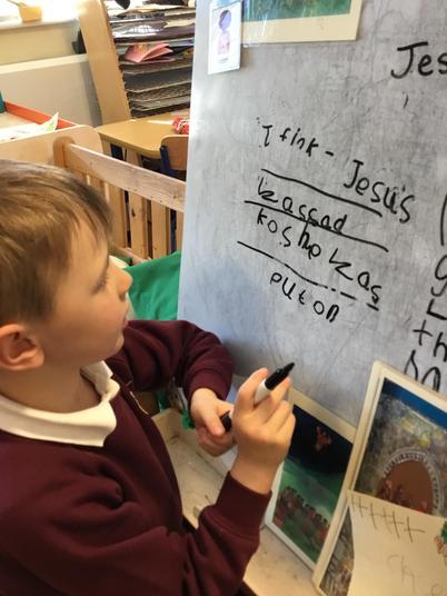 Child initiated writing